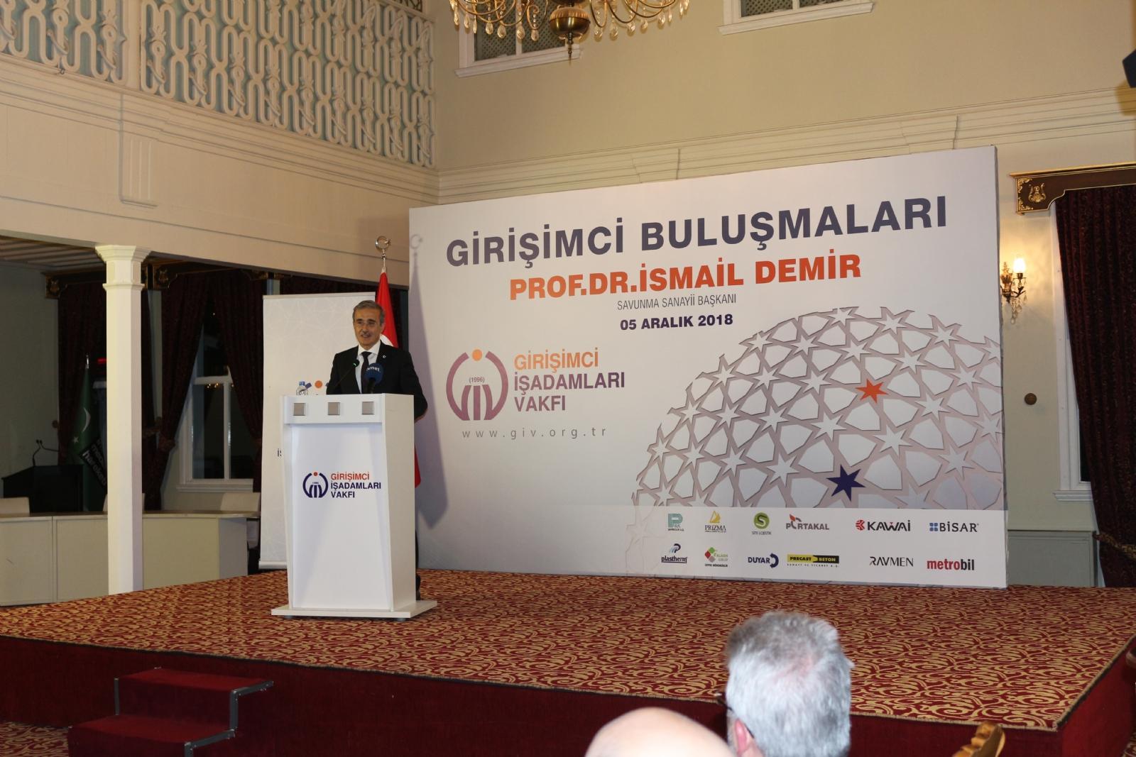 GİV Girişimci Buluşmaları Prof. Dr. İsmail Demir