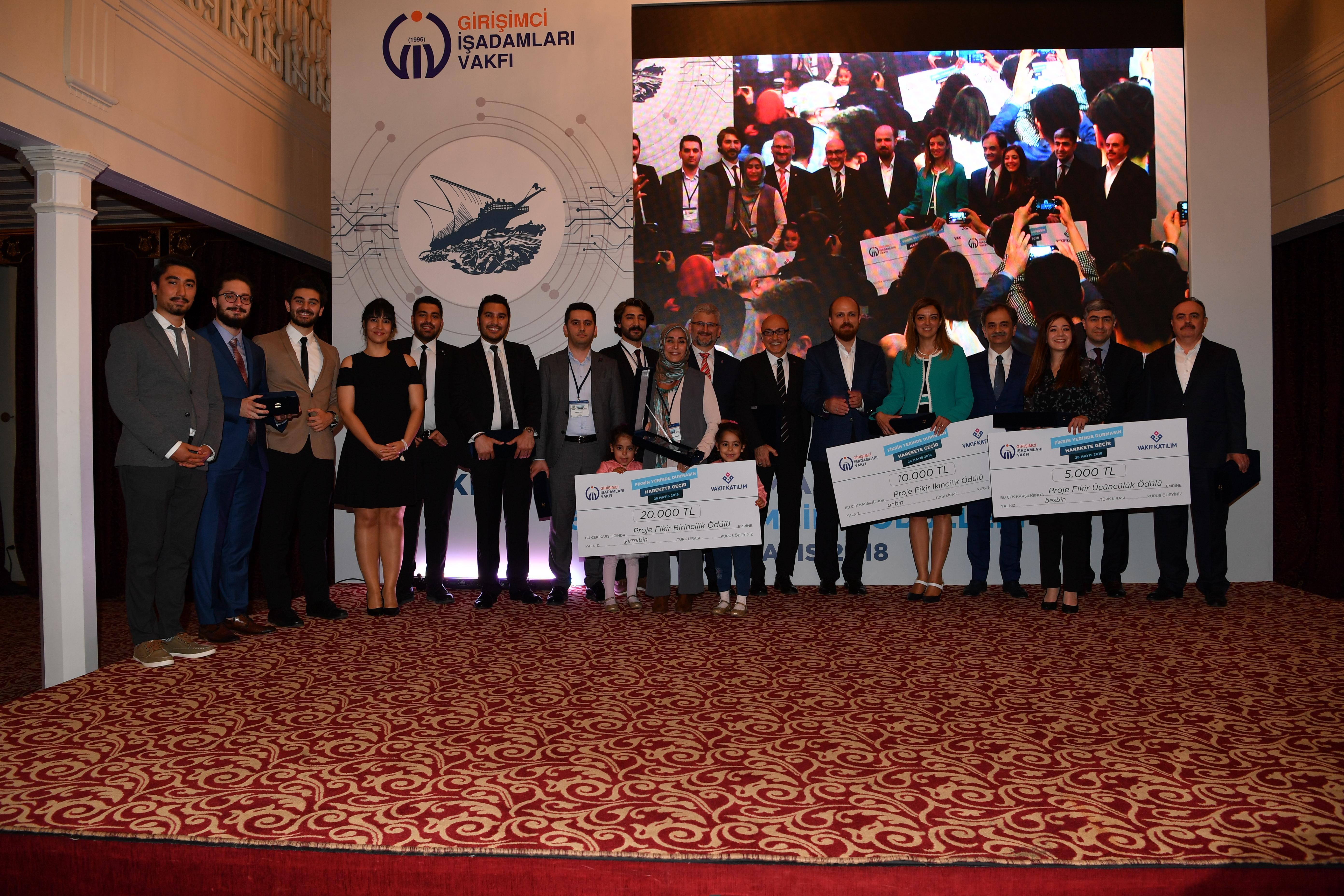 GİV 6. Girişimcilik Ödülleri Toplu Fotoğraf