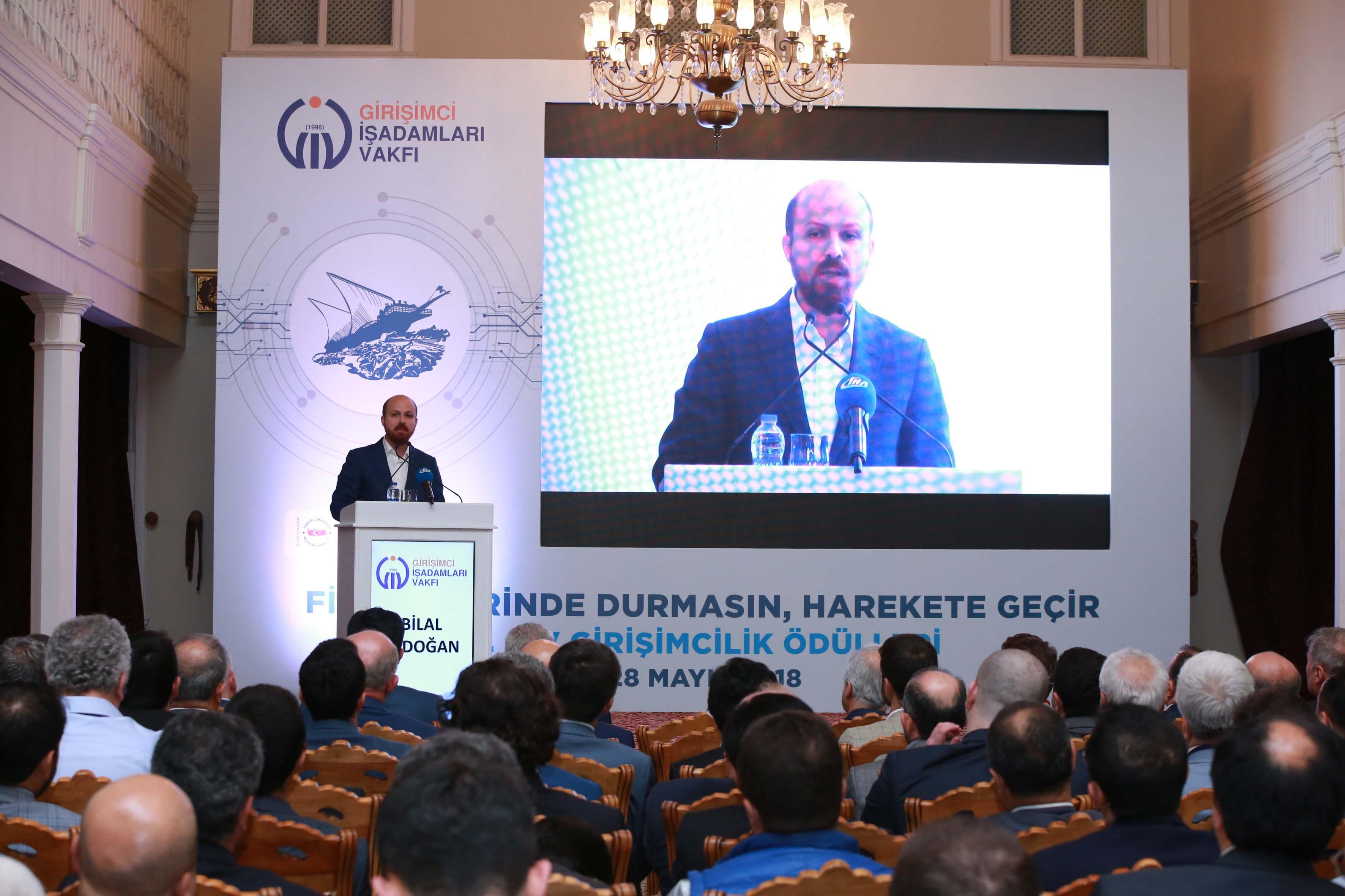 GİV 6. Girişimcilik Ödüller Bilal Erdoğan Konuşması