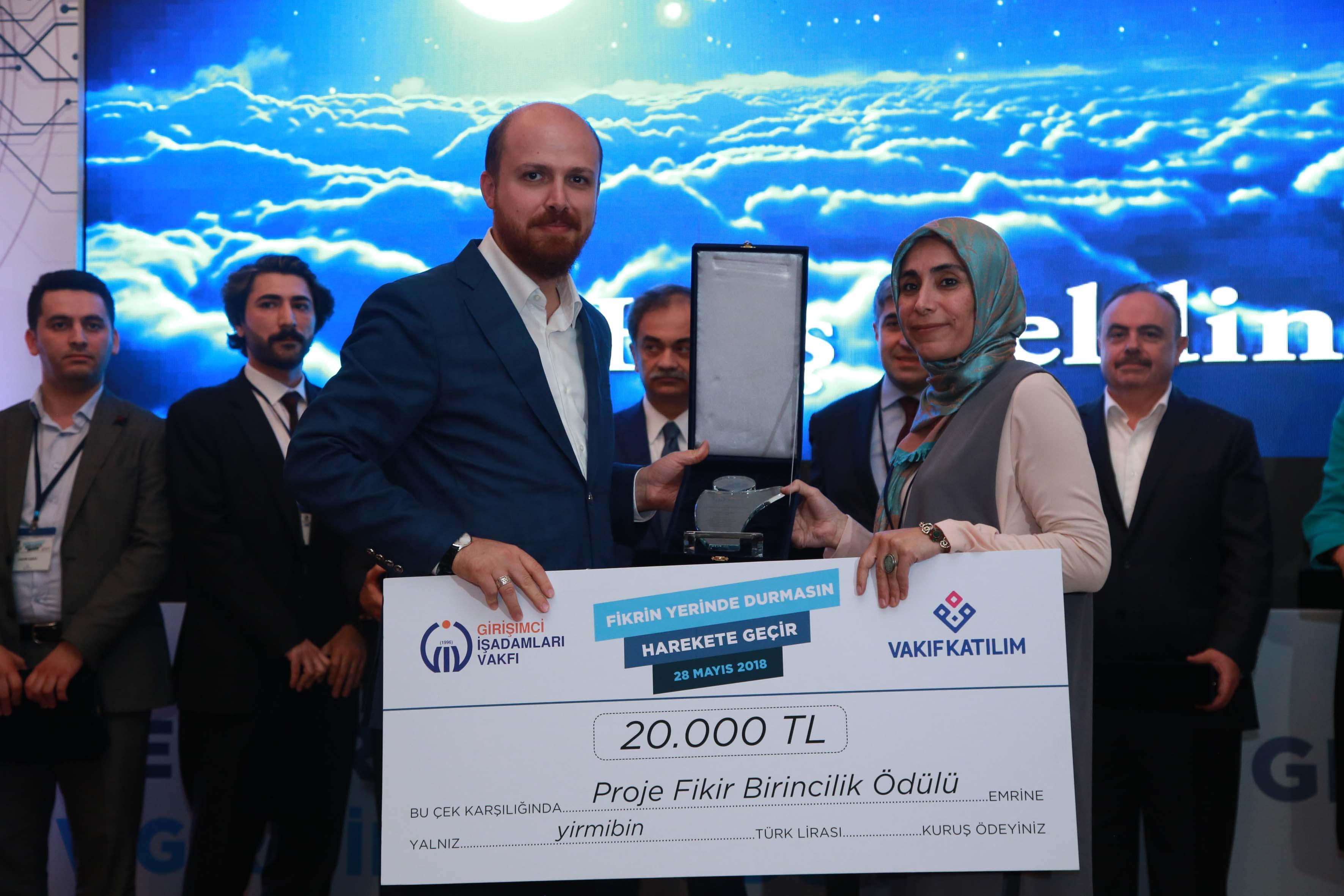 GİV 6. Girişimcilik Ödülleri Bilal Erdoğan Ödül Takdimi