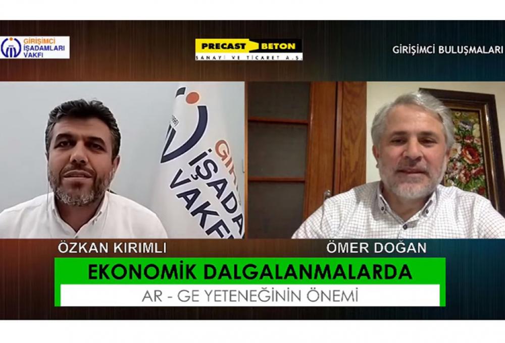 """""""AR-GE ÇALIŞMALARI YAPMADAN İLERLEMEK MÜMKÜN OLMAZ"""""""