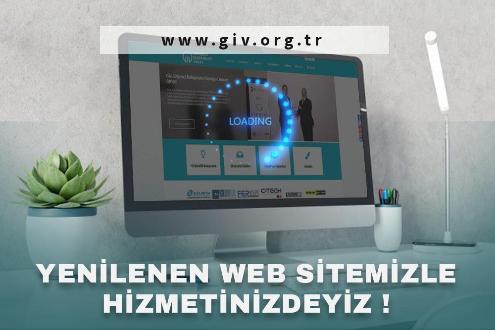 WEB SİTEMİZ YENİLENİYOR.