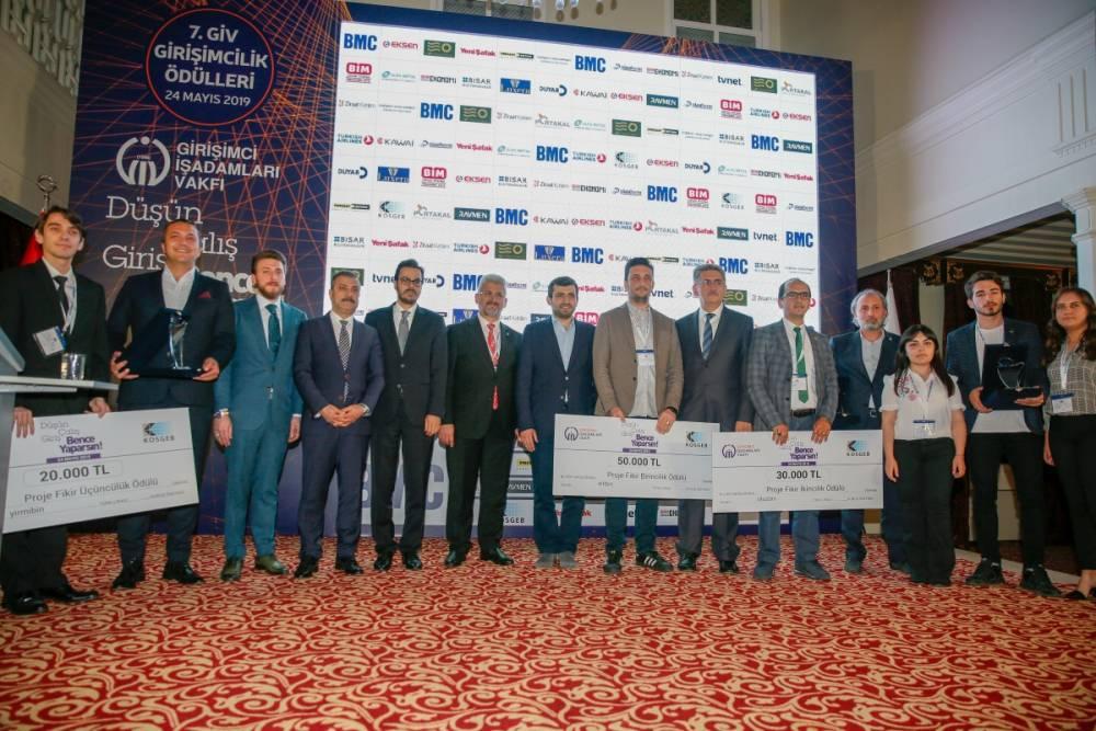 GİV 7. Girişimcilik Ödülleri Sahiplerini Buldu!