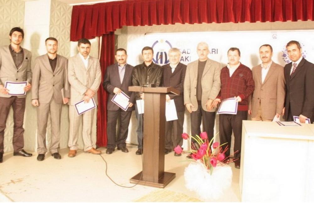 H.Ü GİRİŞİMCİLİK ÖDÜLLERİ - 2011