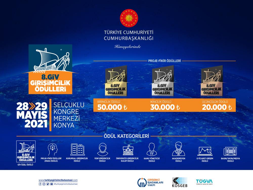 Cumhurbaşkanlığı Himayelerinde Türkiye Girişimci Buluşması Zirvesi ve Sergisi BAŞLIYOR!
