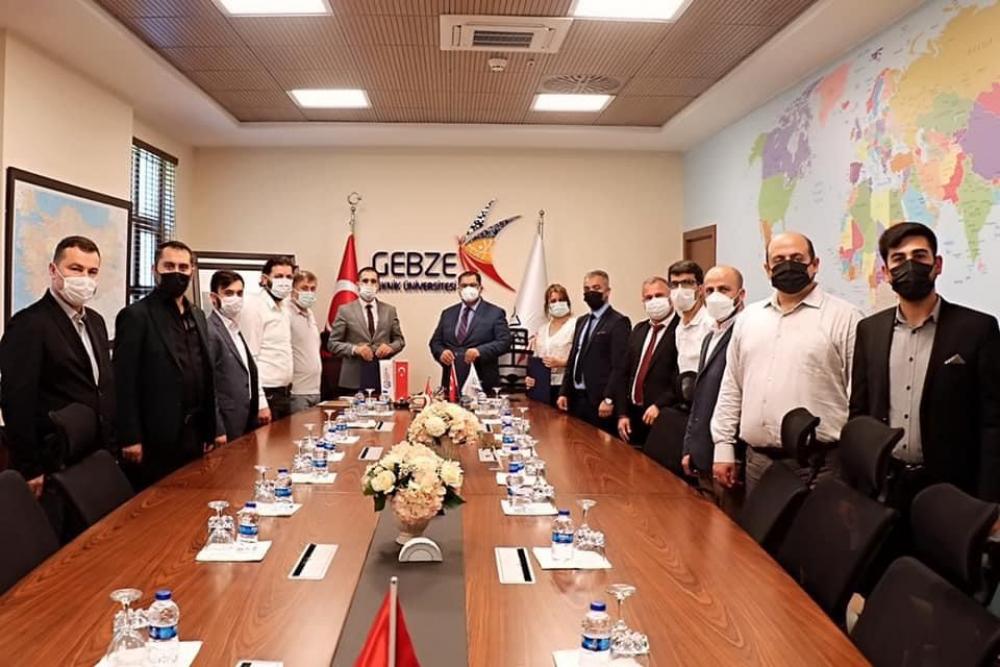 GİV Gebze ile GTÜ ve GTÜ Teknoloji Transfer Ofisi (TTO) Arasında İş Birliği